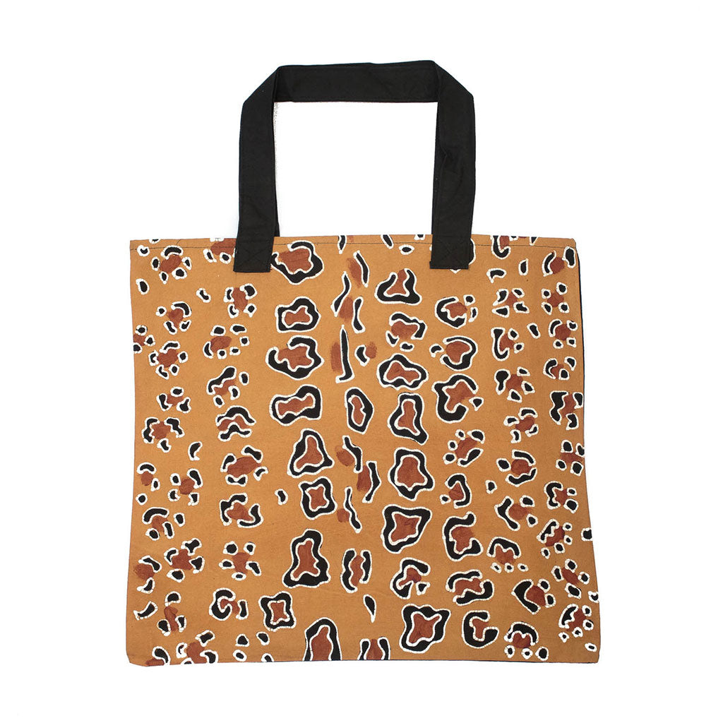 Handmade Bag with Contemporary leopard design