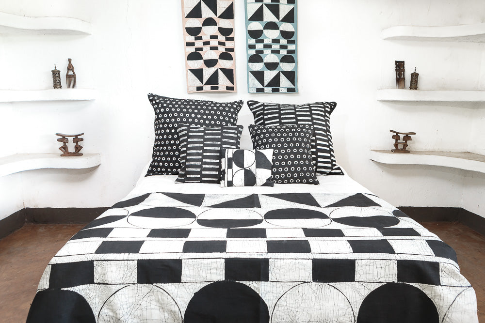 Bed Throws With Patternity Design