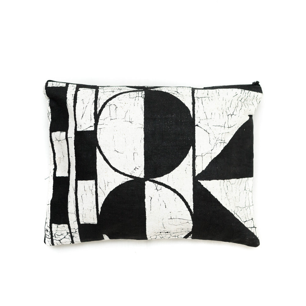 Clutch Bag With Patternity Design