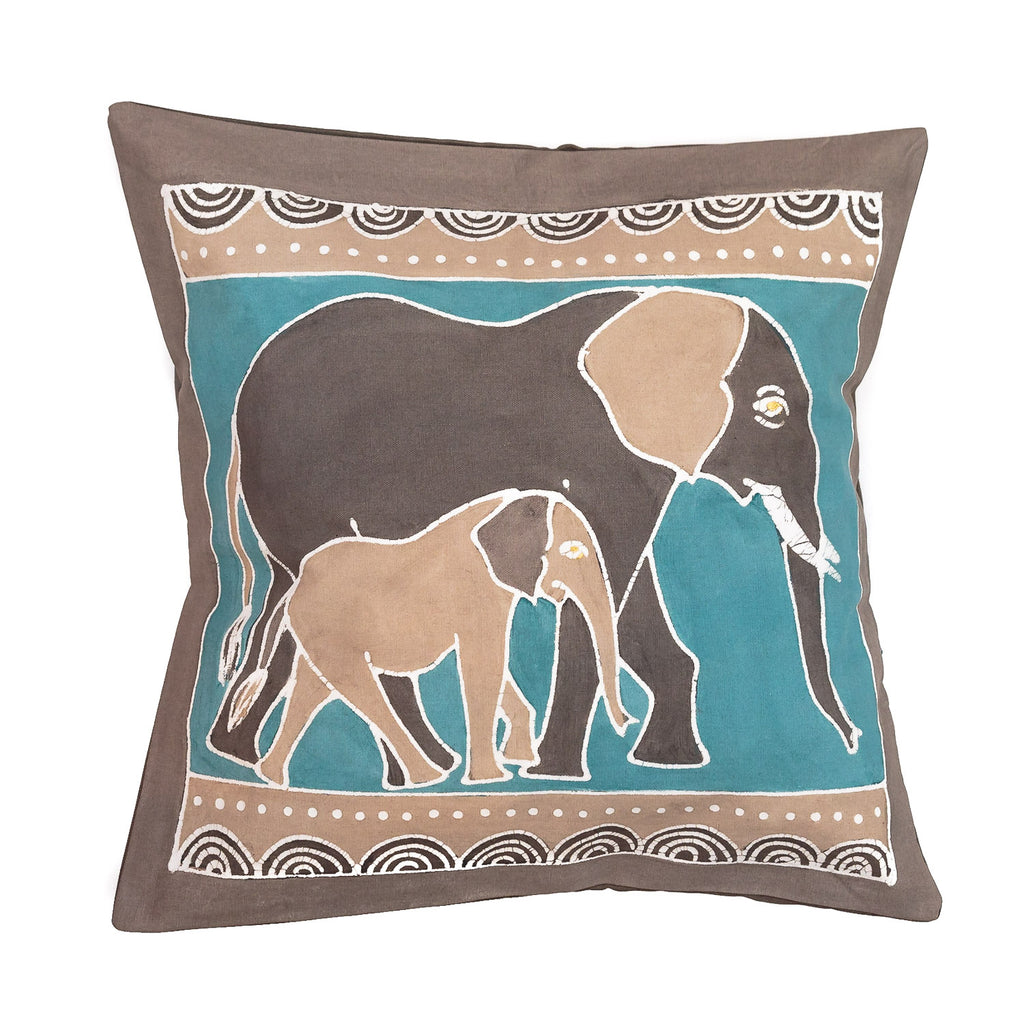 Elephant Cushion Cover