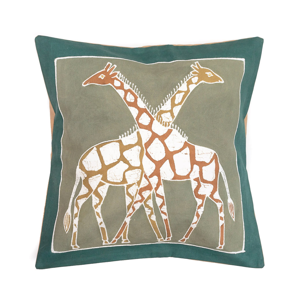 Zebra design cushion cover