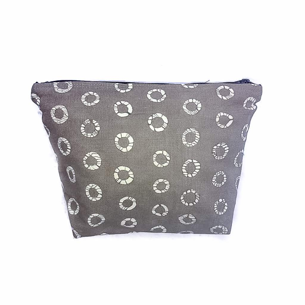 Wash Bag With Patternity Spot Design