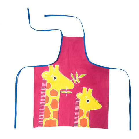 Kids' Aprons ~ Safari Fun ~ Giraffe