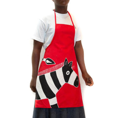 Kids' Aprons ~ Safari Fun ~ Zebra