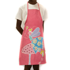 Hand-painted Kids' apron made in africa