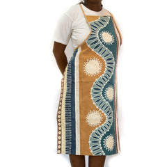 Hand-painted, fair-trade Aprons ~ Mali Tribal Textiles, rural Zambia.