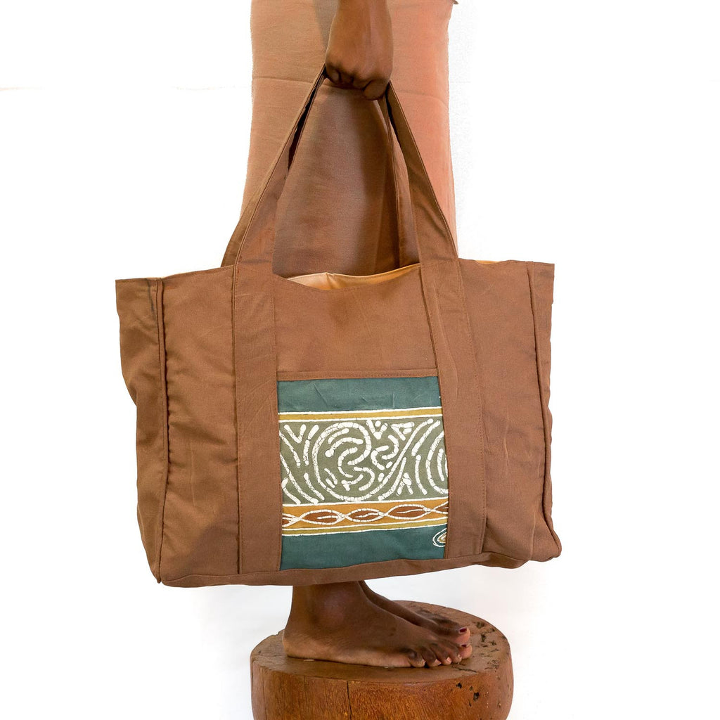 Hand-painted Safari Carry All Bags