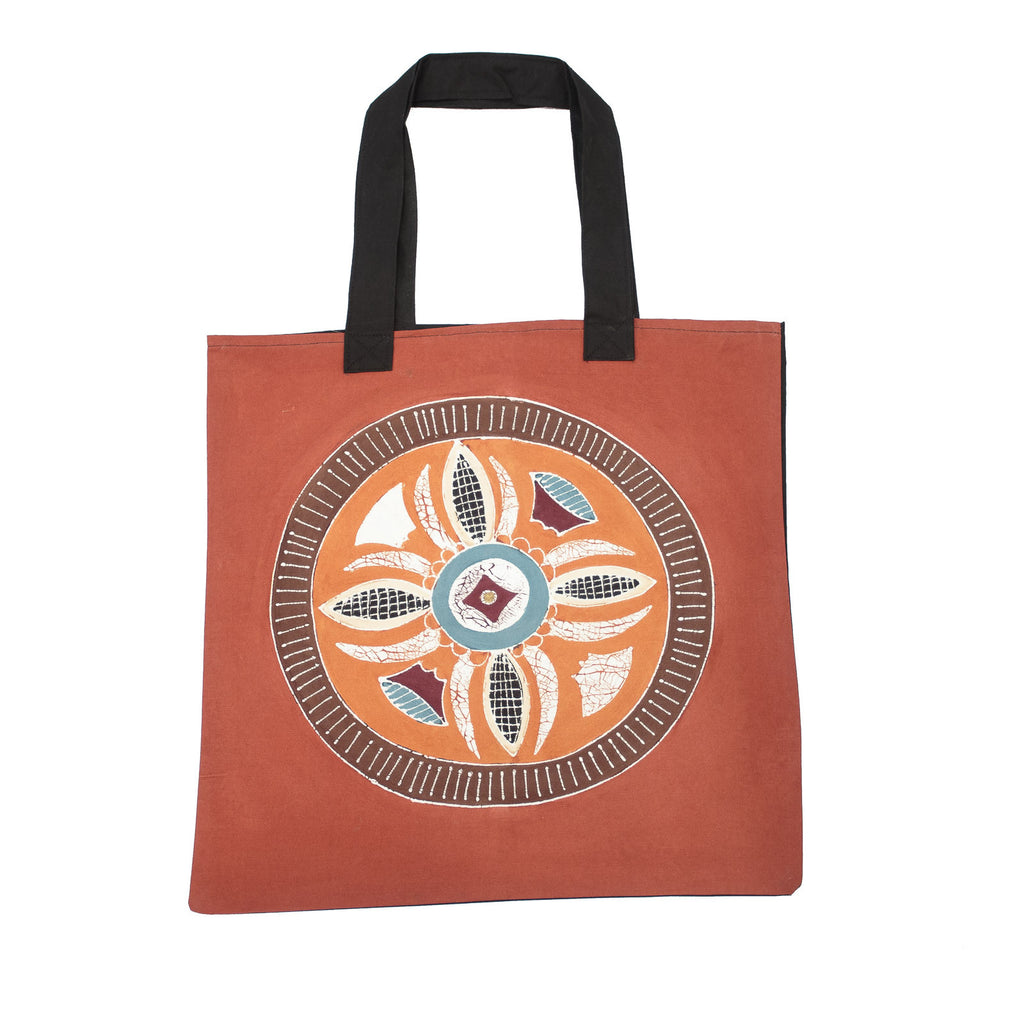 African handmade Bag with Circles