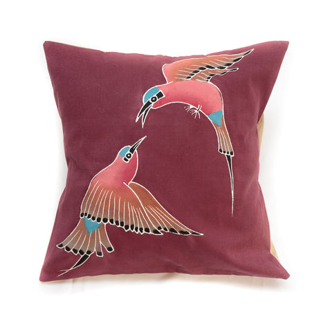 Cushion Covers ~ Birds ~ Carmine Bee-eater