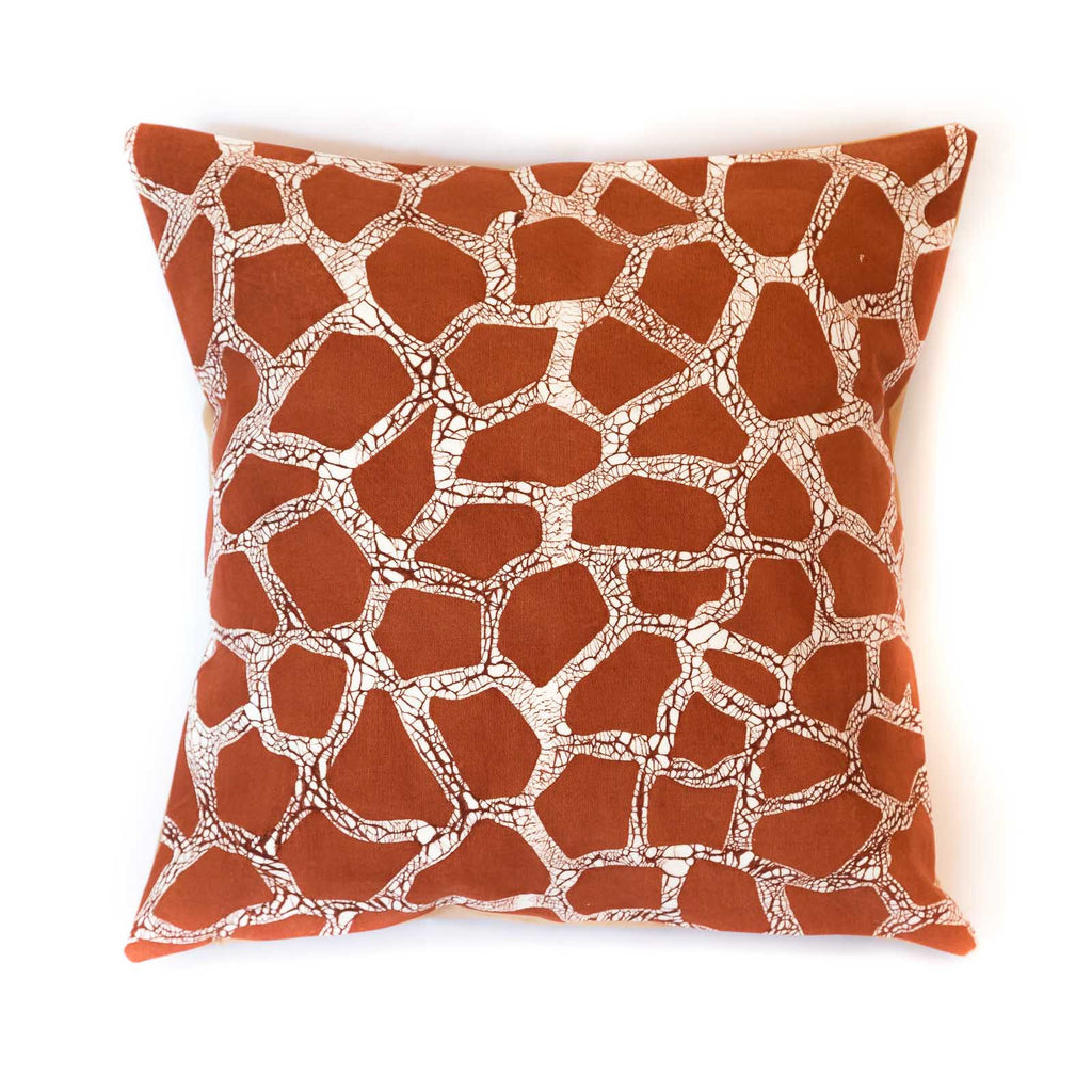 Giraffe print cushion cover