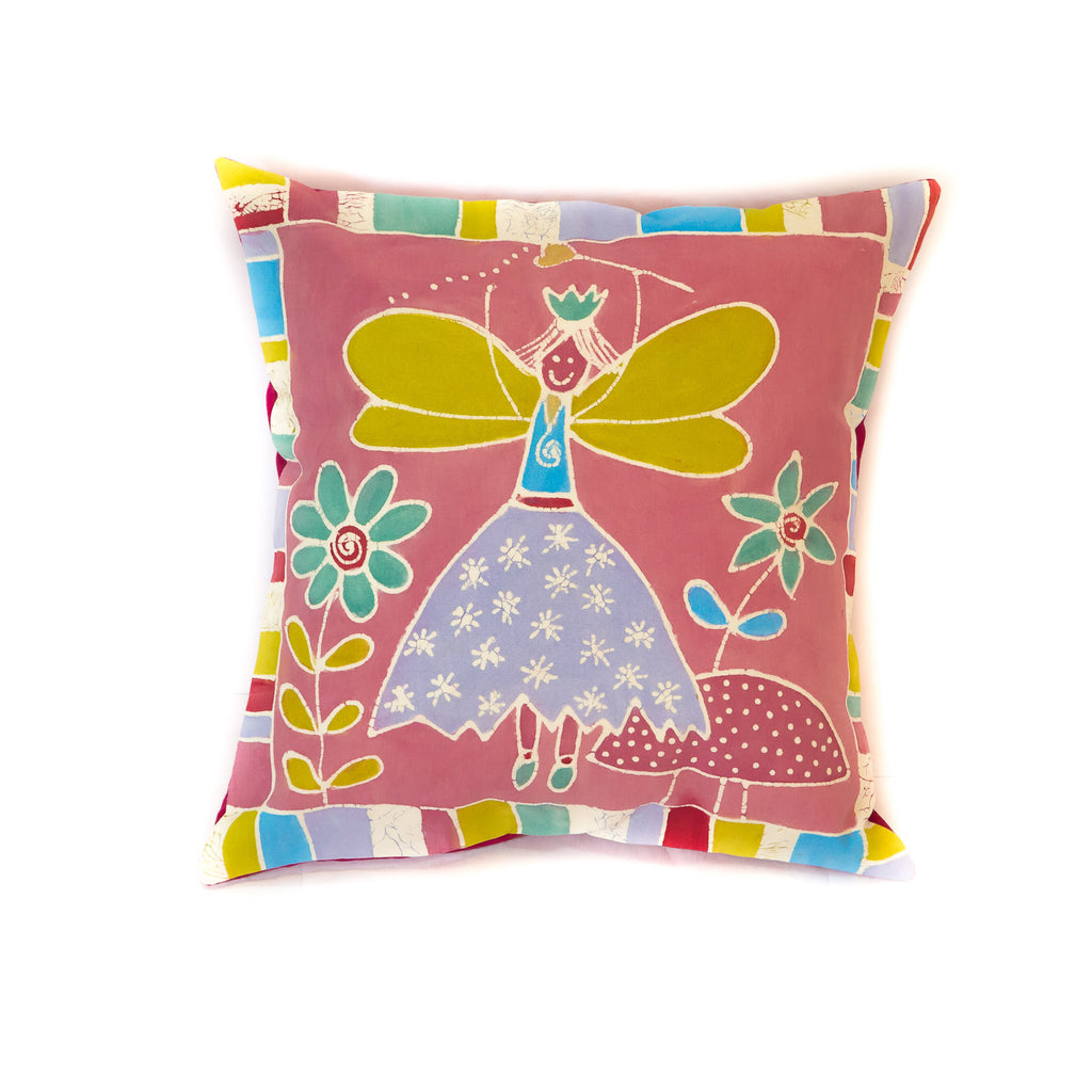 Kids Cushion Covers with fairy design handmade in Africa