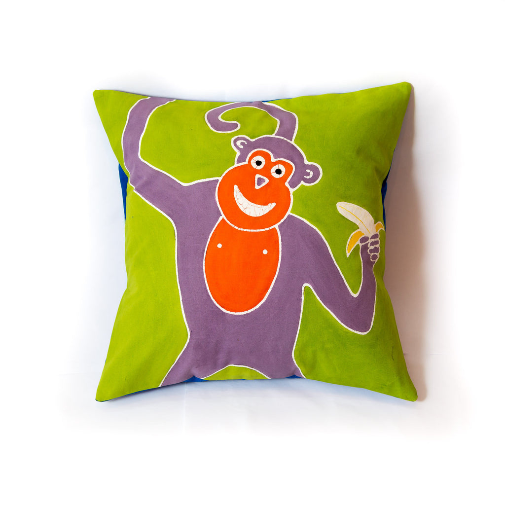 Monkey cushion cover for kids