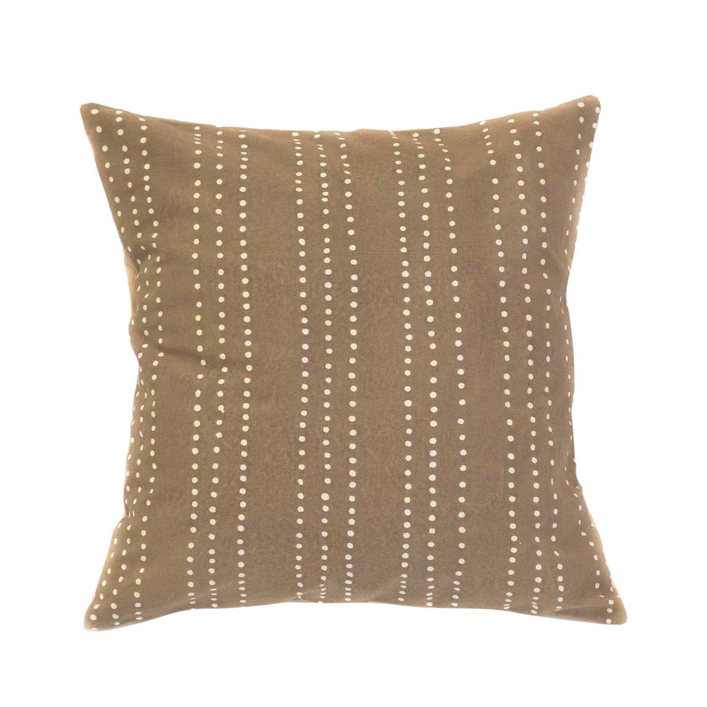 Cushion Covers - Tribal Cloth Mushroom Dots