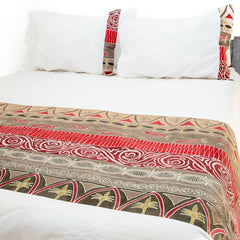 Hand-painted, fair-trade Duvet Covers ~ Artisans' Gallery Tribal Textiles, rural Zambia.