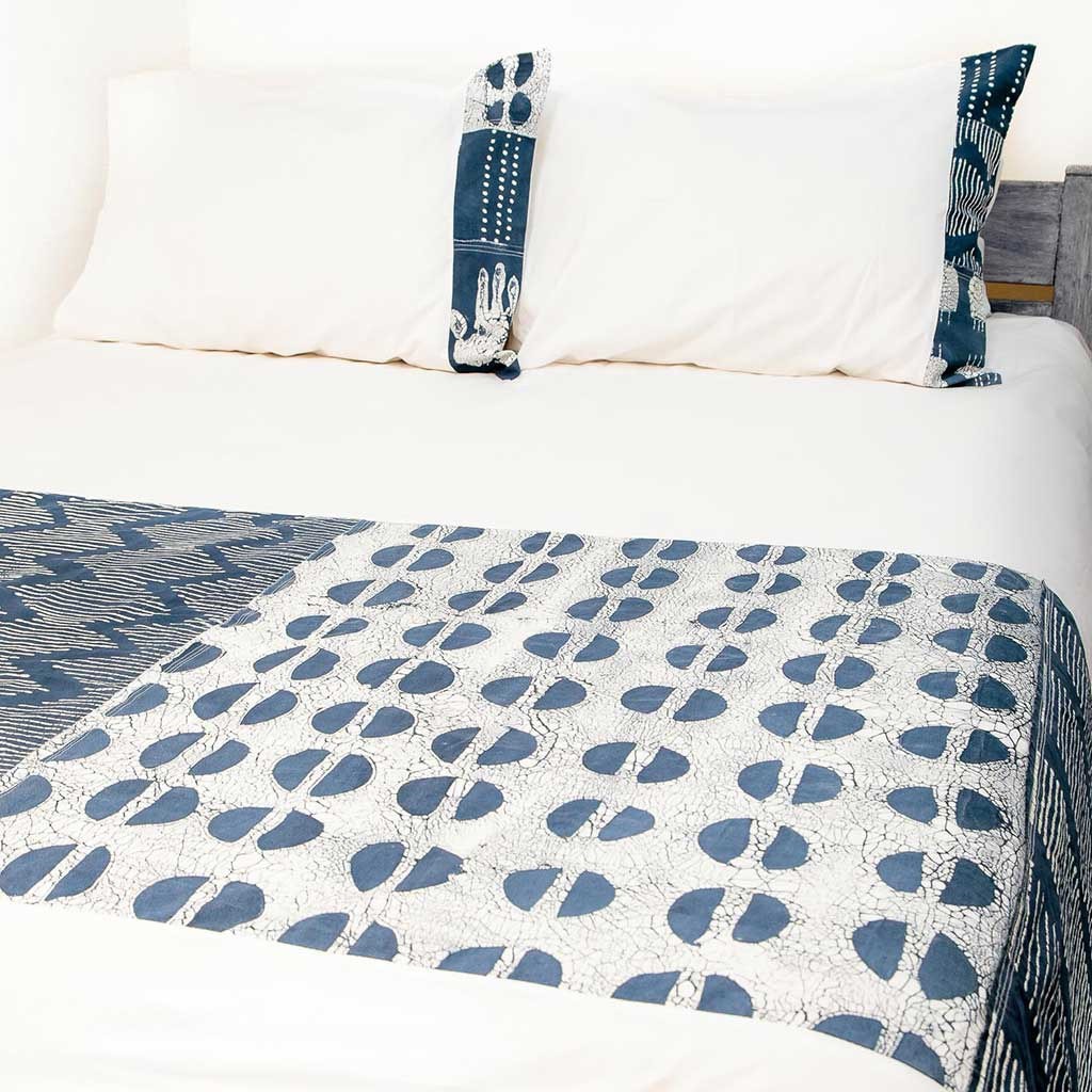 Duvet Covers Tribal Cloth Indigo