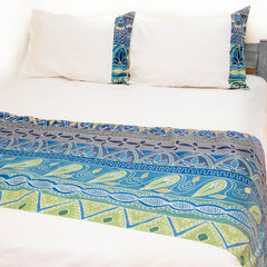 African print duvet covers with delicate colours
