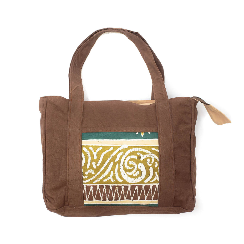 Hand-made safari Hand Bags in green colours