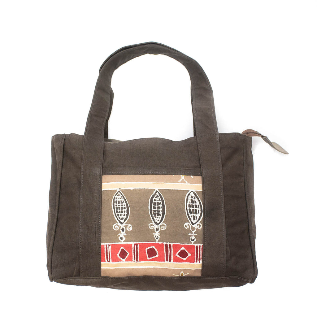 Hand-painted Safari Hand Bags