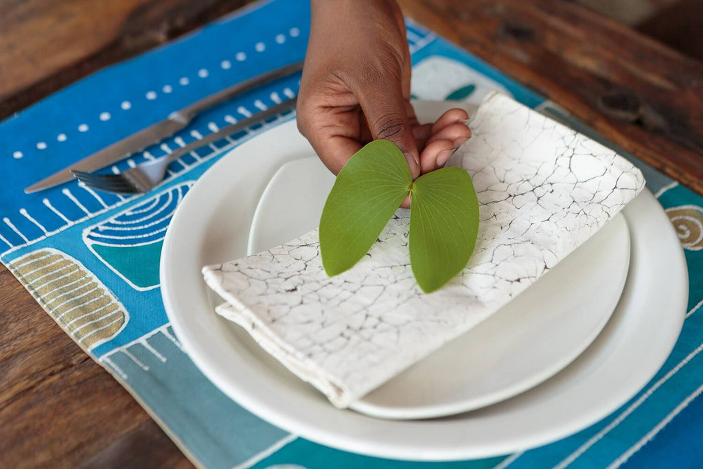 Mali Aqua Hills Placemat Set of 6