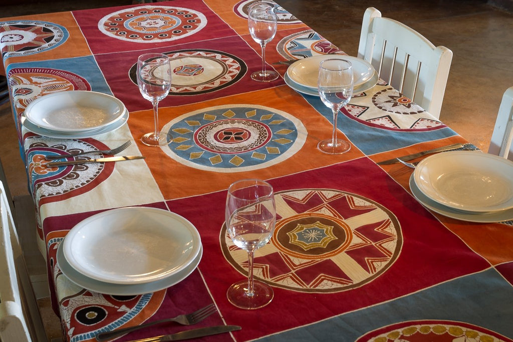 Table Runners ~ African Circles Massai