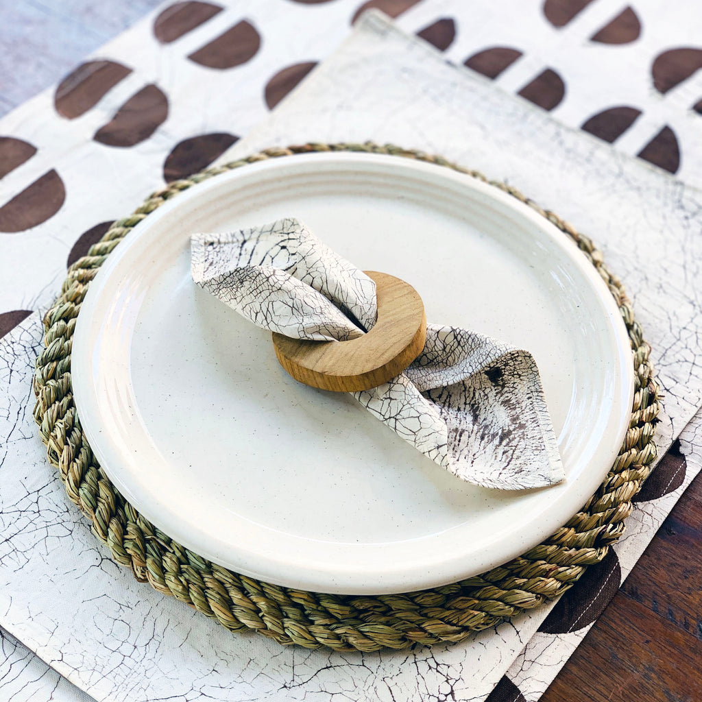 Table Runners Tribal Cloth Mushroom