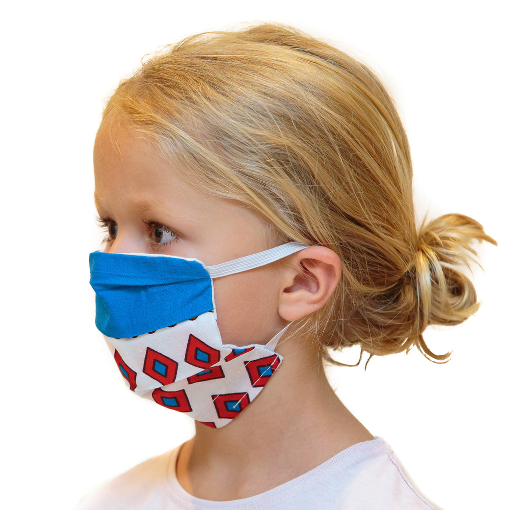 Washable Face Masks with Filter Pocket - Screen Print (Adults I Kids)