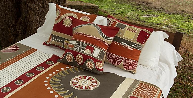 African print pillow Handmade in Africa