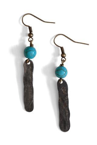 Mulberry Mongoose Earrings