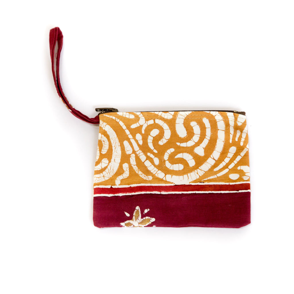Hand-painted african Purses made by artisans
