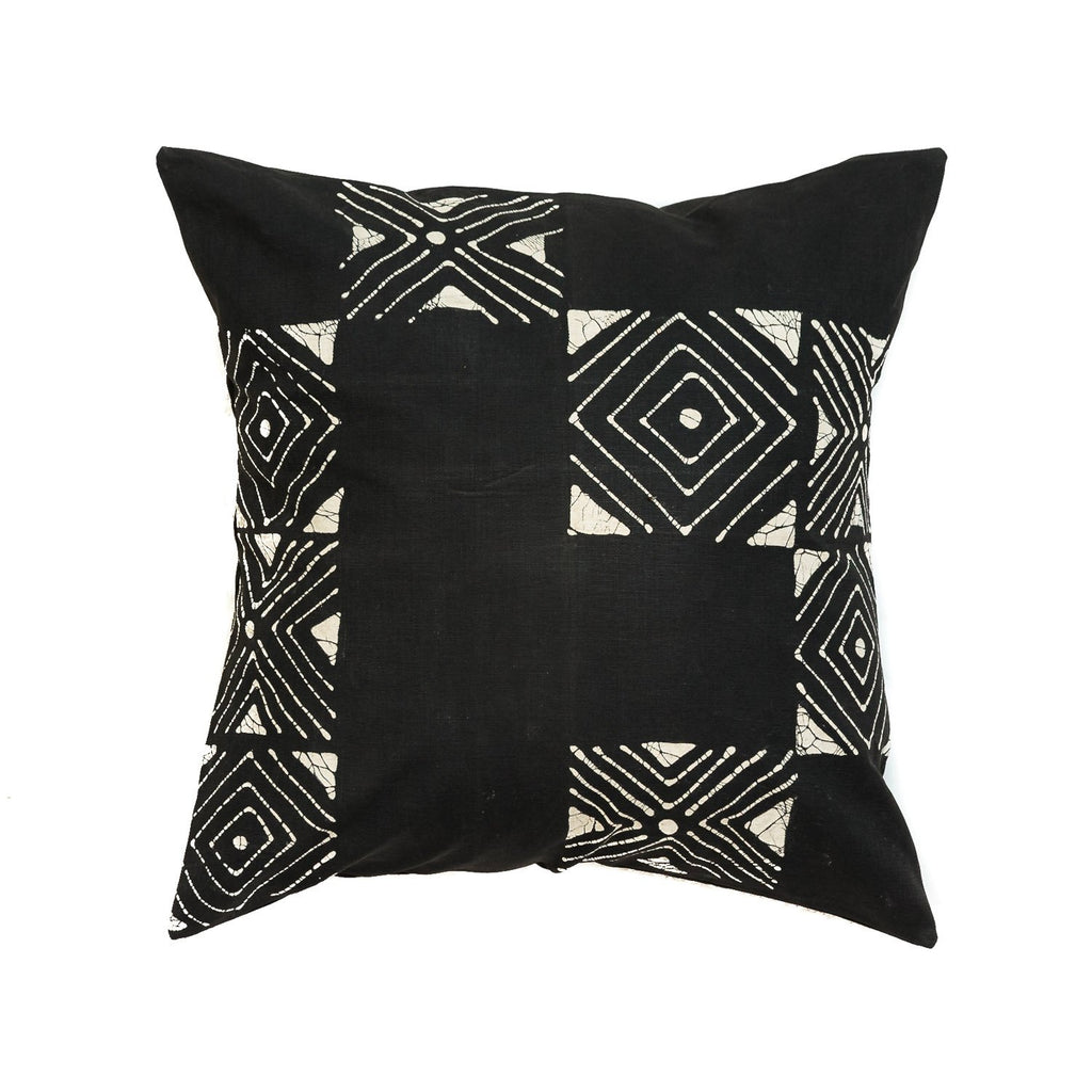 Throw Pillows - Matika - Black Grid