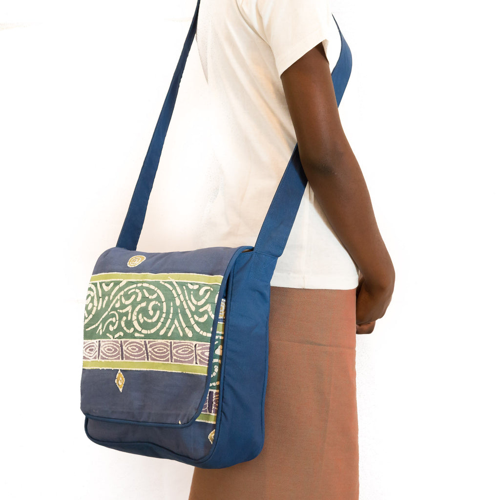 Safari Shoulder Bag handmade in Africa