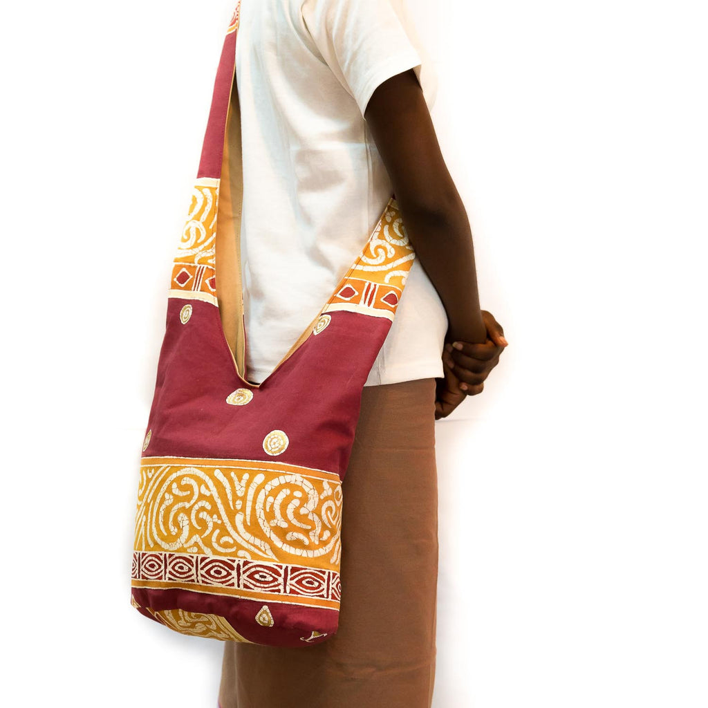 Hand-painted african Sling Bag