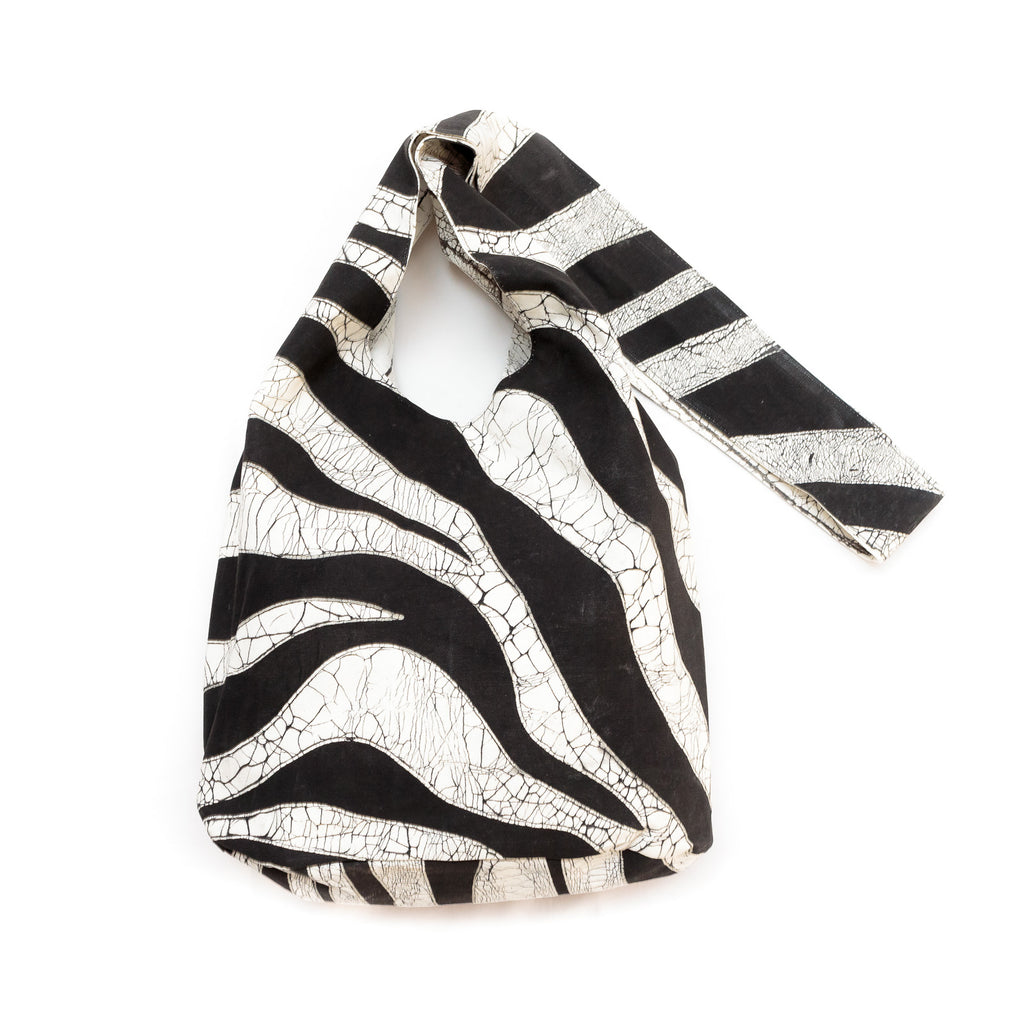 Safari Sling Bags with zebra print pattern