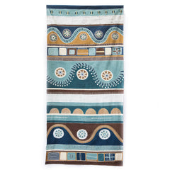 Hand-painted, fair-trade Tablecloths ~ Mali Tribal Textiles, rural Zambia.