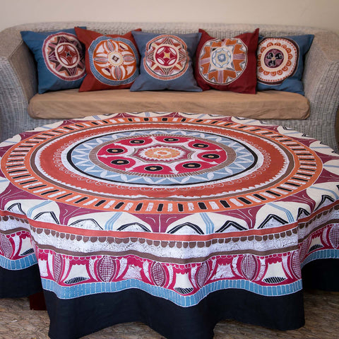 Round Tablecloths ~ African Circles