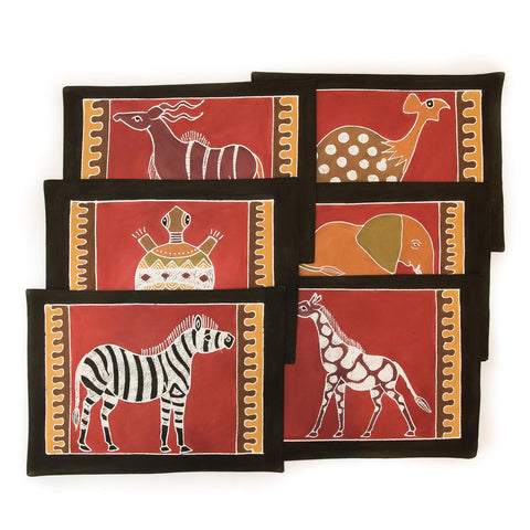 Table Mats ~ Various Safari Animal