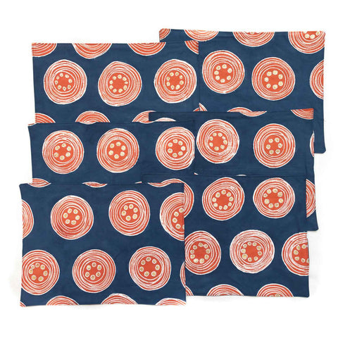 Table Mats ~ Vibrant Circles