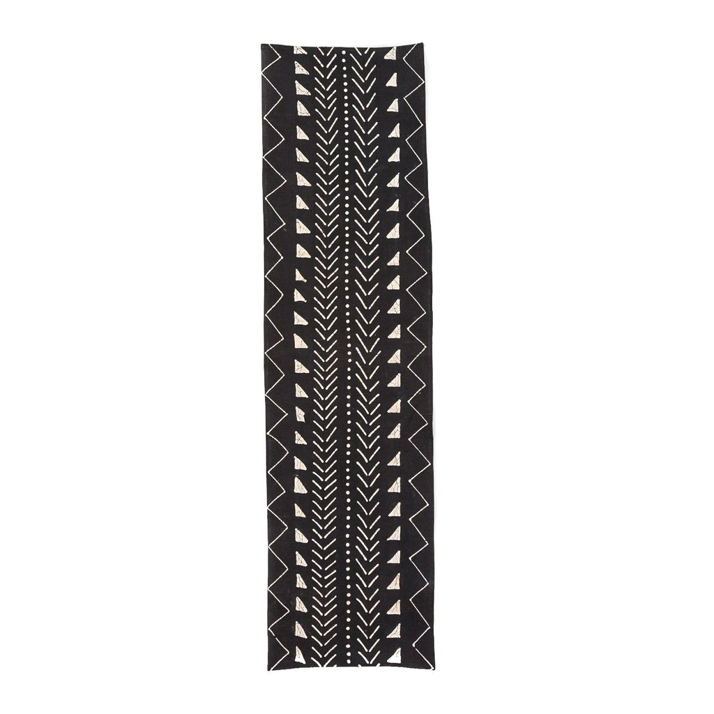 Table Runners - Matika - Black Linear