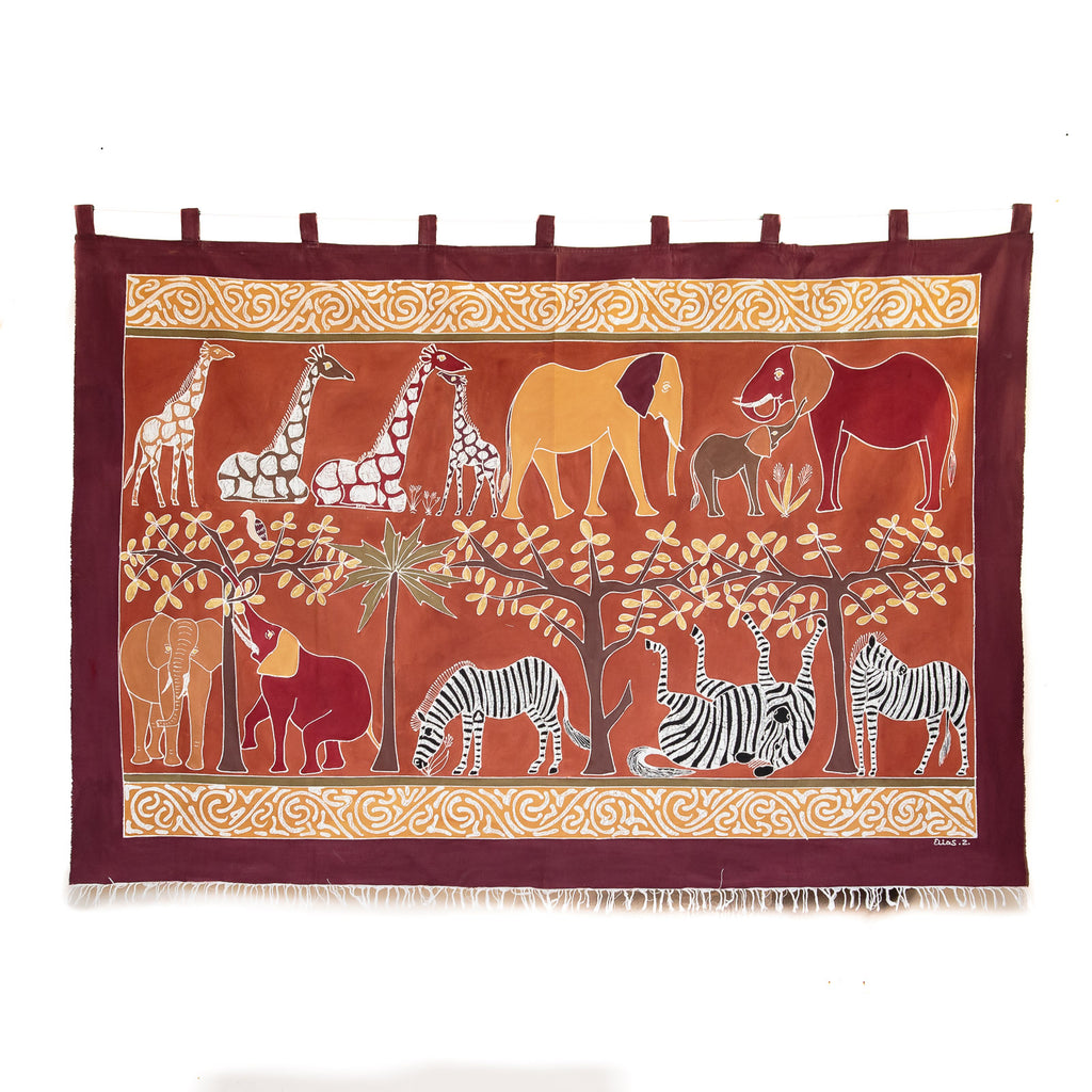 Wall Hangings - Safari Animals Bushways