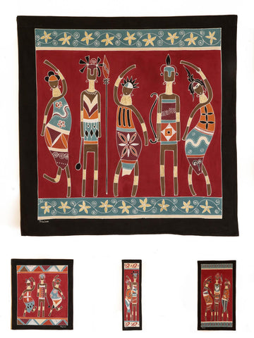 Wall Hangings ~ Ladies and Warriors