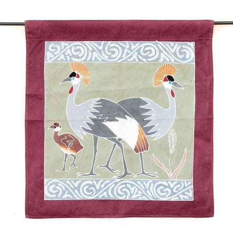 Wall Hangings ~ Birds Range ~ Crowned Cranes
