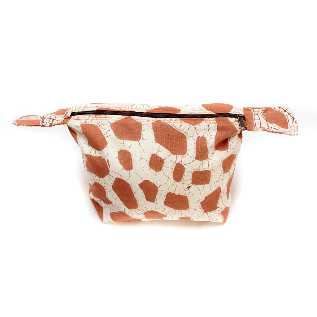 Wash Bags with giraffe print