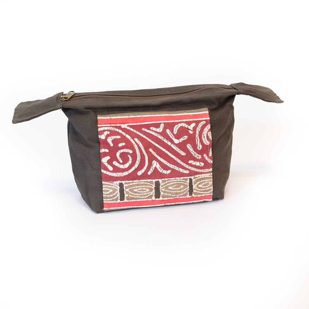 Fair-trade Safari fabric Wash Bags