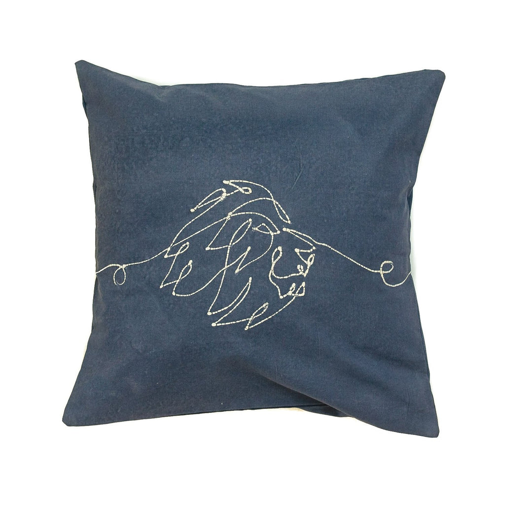 Cushion Cover - Wild Lines Lion