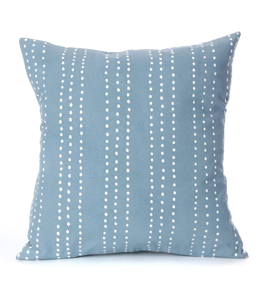 Indigo pillow case with dots from Tribal Textiles