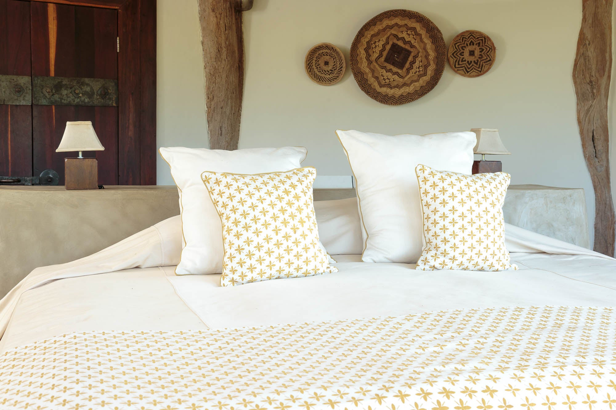 Tribal Textiles at Luangwa House