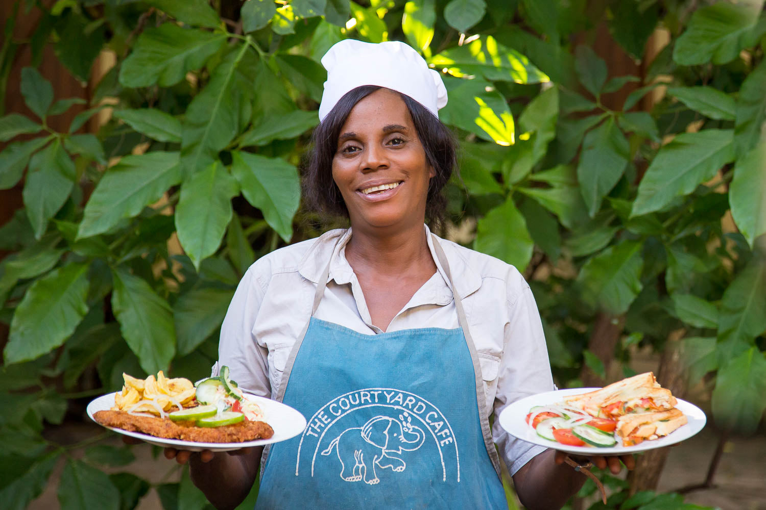 The Cafe and Restaurant at Tribal Textiles is run by local chef Dorica and offers delicious food