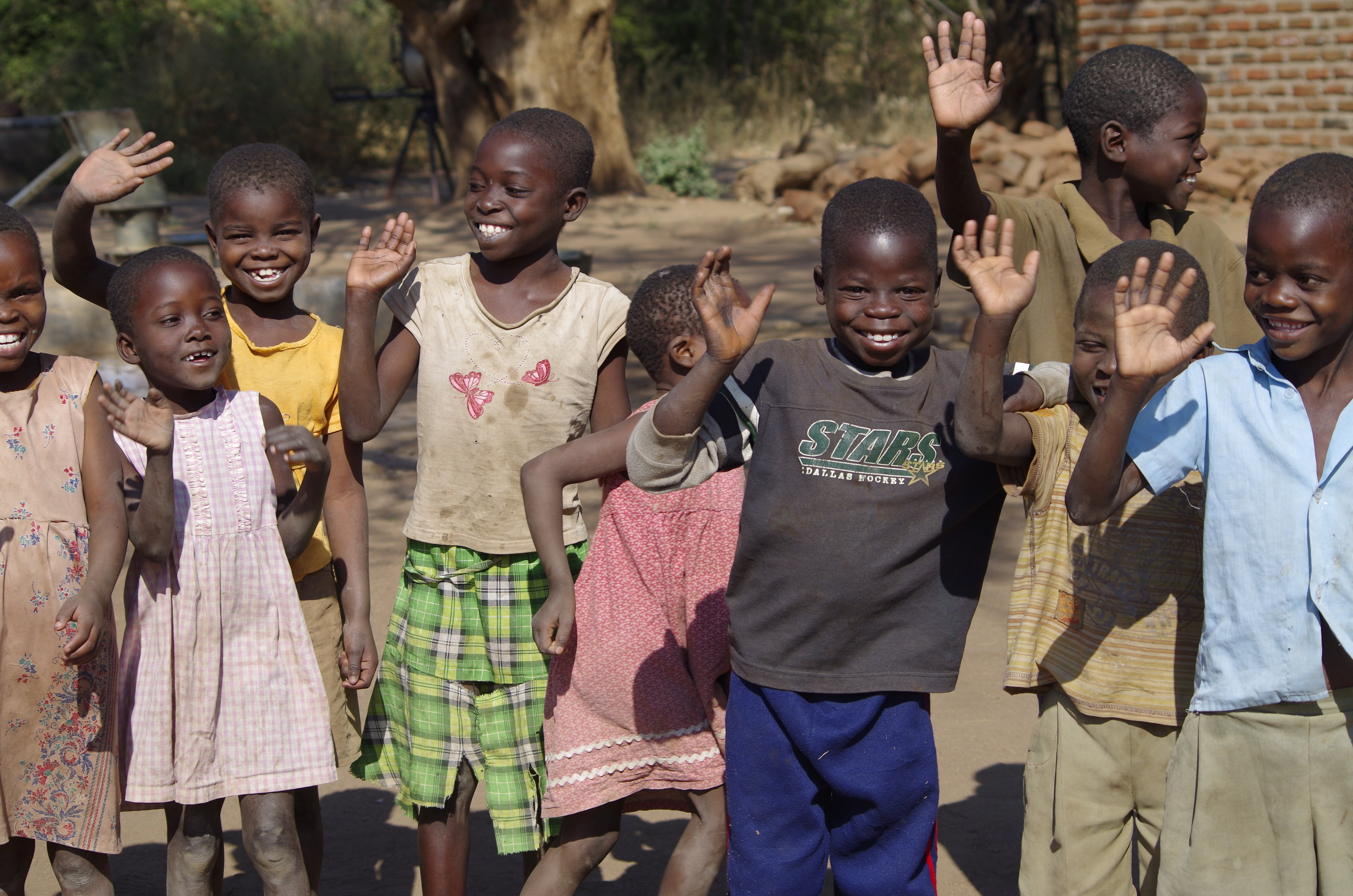 Children From Malimba School