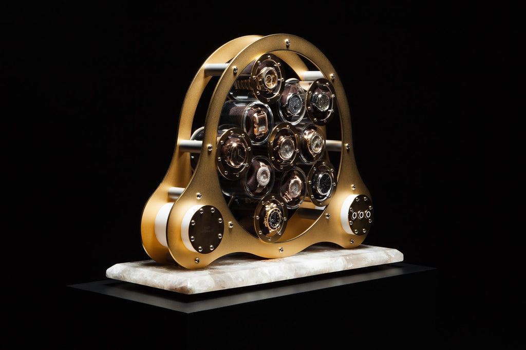 Lumisidus 11 24 carat gold Watch Winder full