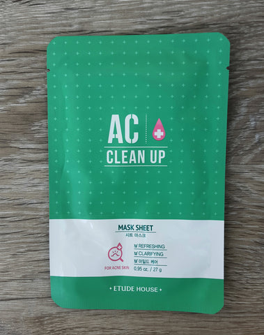 [Etude House] AC Clean Up Mask Sheet